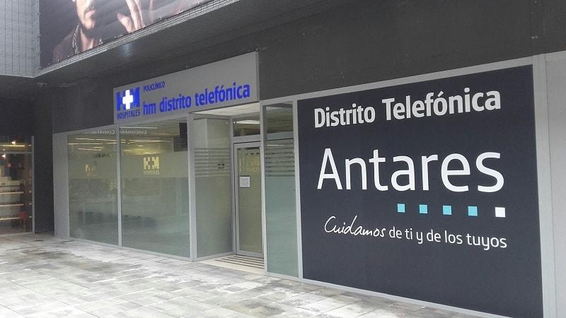 centro médico telefónica