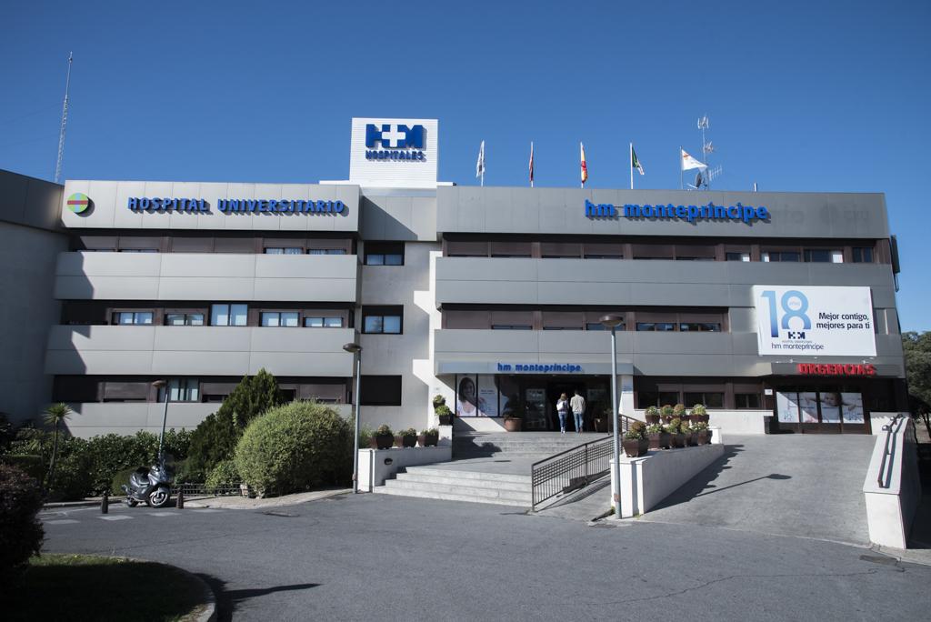 Fachada Hospital Montepríncipe