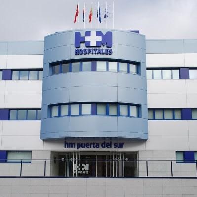Fachada Hospital Puerta del Sur