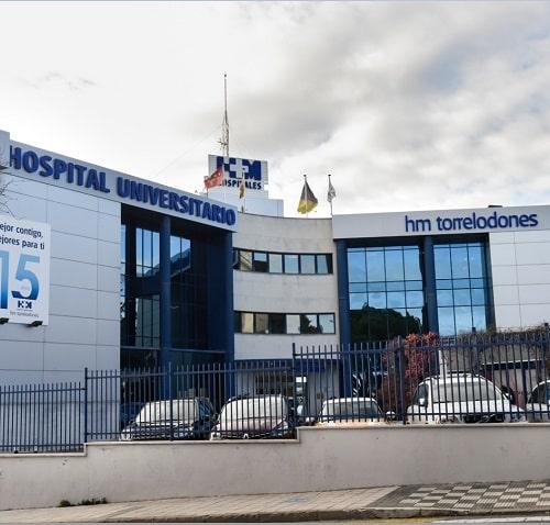 Fachada Hospital de Torrelodones