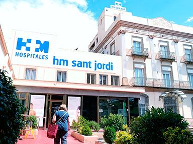 Hospital barcelona HM sant jordi