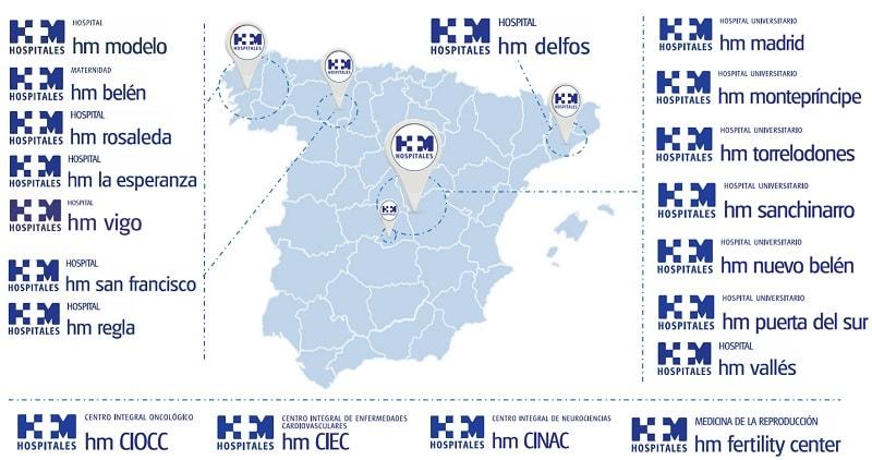 hospitales del grupo hm hospitales