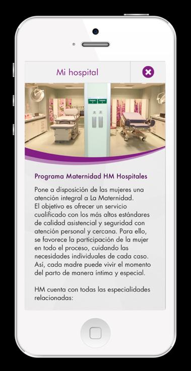 app móvil embarazo